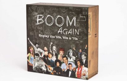 Boom Again: New Nostalgic Board Game Focuses on the 50s, 60 and 70s