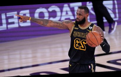 Lakers' LeBron James takes aim at Mike Pence using viral fly debate moment
