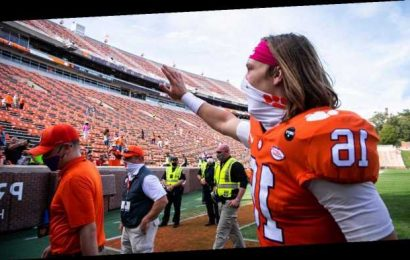 No. 1 Clemson turns to Uiagalelei with Lawrence sidelined
