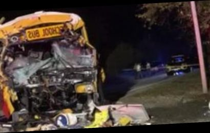 School bus crash in Tennessee kills girl and driver and injures others
