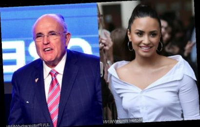 Demi Lovato Sarcastically Responds to Rudy Giuliani's Explanation of Compromising 'Borat 2' Scene