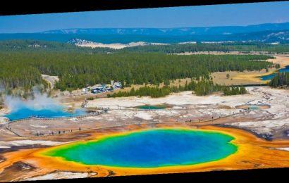 A toddler suffered a second-degree burns after falling into a 'thermal feature' at Yellowstone National Park