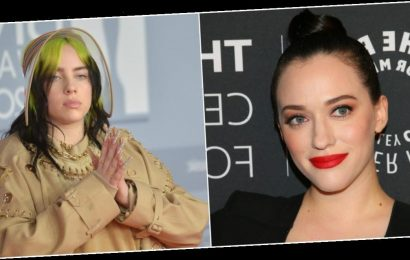 Kat Dennings says she 'looked exactly like' Billie Eilish at her age, tells body shamers to 'f— right off'