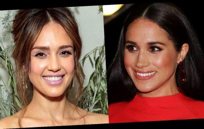 Meghan Markle and Jessica Alba Love These Statement Earrings