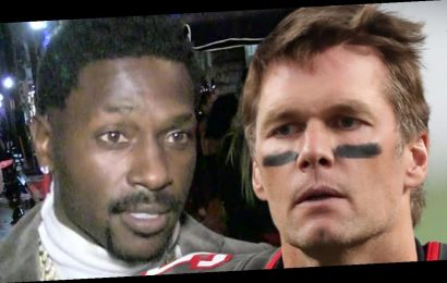 Antonio Brown Moved In With Tom Brady after Signing with Tampa Bay Bucs