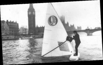 How Sir Alex Allan once windsurfed down the Thames to Parliament