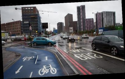 New eco-friendly routes get ONE biker for every 400 motorists on road