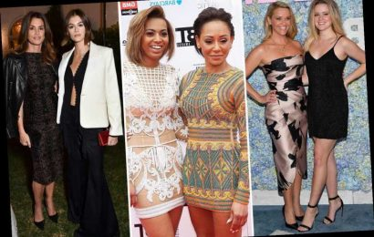 A-list mums and their dazzling look-a-like daughters from Mel B and Phoenix Chi to Reese Witherspoon and Ava Phillippe