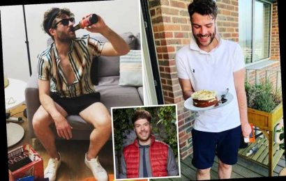 Inside I'm A Celeb's Jordan North's London flat with makeshift bar and stunning balcony