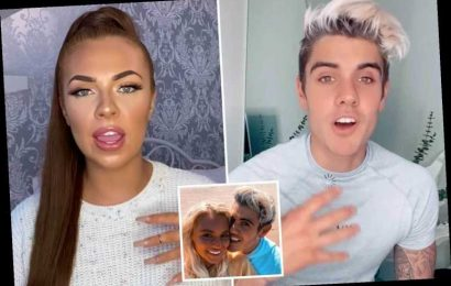 Love Island exes Luke and Demi clash after explosive rant where she blamed new girl Lucie for their break-up