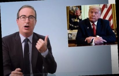 John Oliver Can't Believe He Still Has to Talk About 'This Asshole' Donald Trump (Video)