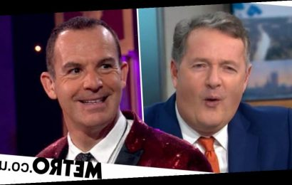 Piers Morgan shocked as Martin Lewis after he delivers savage X-rated swipe