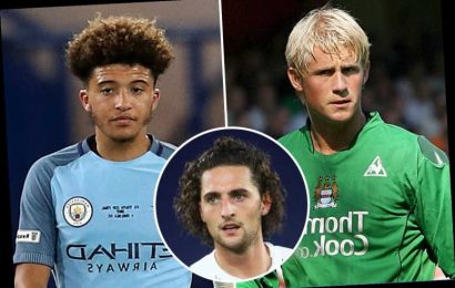 Seven stars who quit Man City and went on to become world class including Kasper Schmeichel and Jadon Sancho