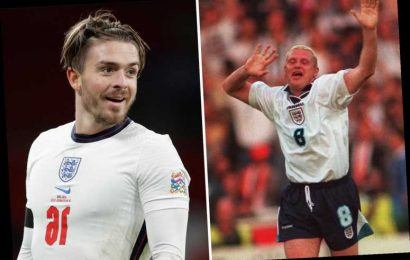 England star Jack Grealish admits he must thrive on 'biggest stage' at Euro 2021 to earn Paul Gascoigne comparisons