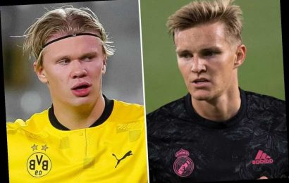Real Madrid's Erling Haaland transfer pursuit boosted with club 'optimistic' Martin Odegaard can help them seal deal
