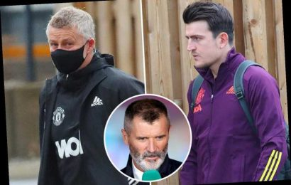 Solskjaer and Maguire hit back at Keane's claims Man Utd have no 'leaders' as they fly out for Istanbul Basaksehir clash