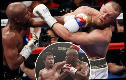 Manny Pacquiao 'did much worse' than Conor McGregor against Floyd Mayweather, claims ex-UFC star Chael Sonnen