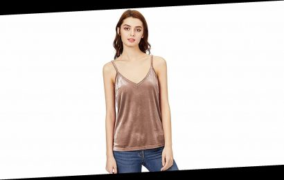 Swoon! This Affordable Velvet Tank Feels So Luxurious and Soft