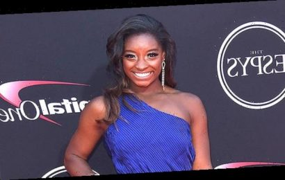 Simone Biles Rocks Sheer Crop Top While Cozying Up To Her 'Man Crush Every Day' Jonathan Owens — Pic