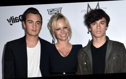 Pam Anderson's sons grew up to be total hunks