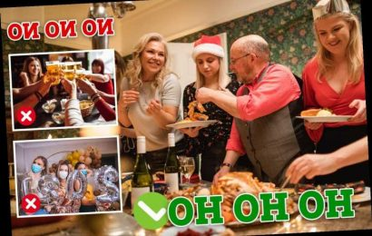 Brits told to avoid socialising for two weeks before and after joining Christmas Covid bubble
