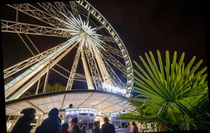 Michelin star restaurant's ferris wheel social distancing dining event was a hit, owner plans another