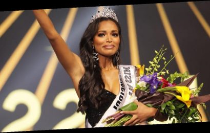 Photos show the emotional moment Miss Mississippi Asya Branch was crowned the winner of Miss USA 2020