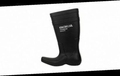 Wade Through the Haters With Balenciaga's Excavator Rainboot