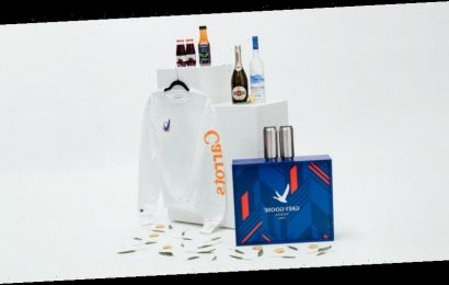 Anwar Carrots Designs Limited-Edition Holiday Sweatshirt With Grey Goose