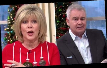 Eamonn Holmes and Ruth Langsford tease backstage rivalry with This Morning co-stars swipe