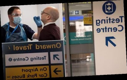 Manchester Airport opens Covid swab centre