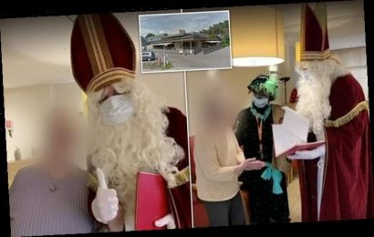 Covid-infected Santa visits Belgium care home and kills 18 residents