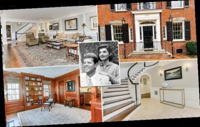 JFK's former Georgetown home where he lived when he met Jackie sells