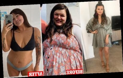 Young mum, 26, shares how she lost 25kg