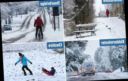 UK weather – Britain set for more snow with Met Office weather warnings until New Year as blizzards spark travel chaos