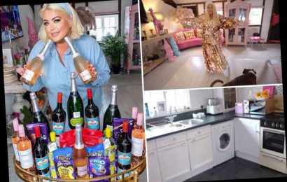Inside Gemma Collins' incredible Essex cottage with gnomes and HUGE gorilla statue as she opens her doors to MTV Cribs