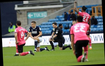 Millwall to DITCH knee after fans' booing shame as club plan alternative anti-racism protest against QPR