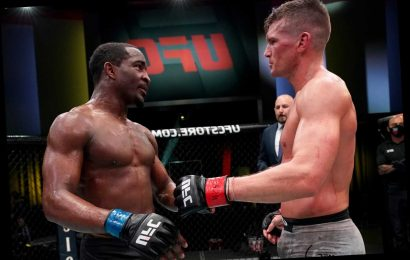 UFC star Geoff Neal reveals he suffered from congestive heart failure and sepsis in build up to Stephen Thompson fight