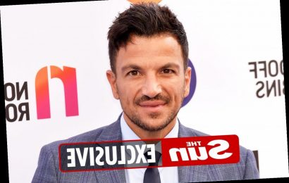 Heartbroken Peter Andre fears he won't see his elderly parents until 2022 amid strict travel rules