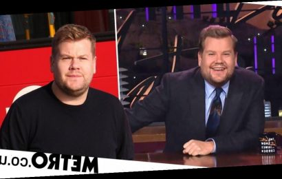 'Homesick' James Corden 'considering quitting The Late Late Show and US'