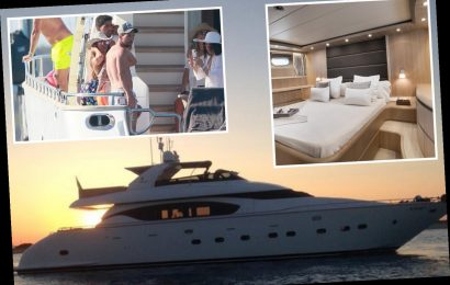 Inside Messi, Fabregas and Suarez's £40,000-a-week yacht that has a waverunner, two kayaks and a VIP state room