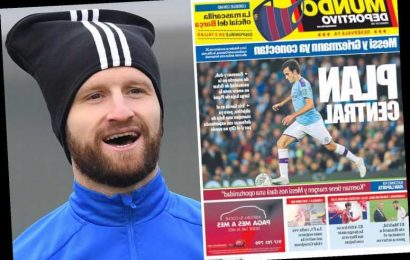 Barcelona include Arsenal ace Mustafi and Chelsea's Rudiger on January transfer shortlist but Eric Garcia is No1 target