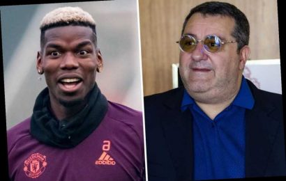 Paul Pogba's agent says it is 'over' at Man Utd and pushes for January transfer as he's unhappy and won't sign new deal