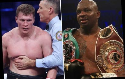 Whyte vs Povetkin rematch 'delayed again' as Russian struggles to recover from coronavirus