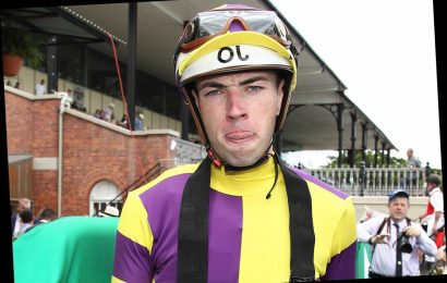 'Massively overweight' jockey BANNED for one month after deceiving stewards with 'corrupt and dishonest' scales trick