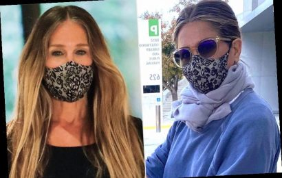 Jennifer Aniston, Sarah Jessica Parker, and Adele All Love This Ultra-Comfy Face Mask