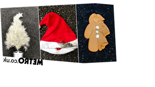 Artist captures photos of Christmas rubbish on the street