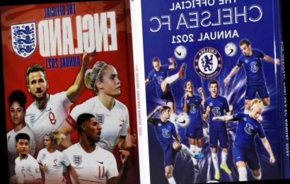 Chelsea include female stars on front of 2021 Annual for first time as they lead Prem pack in advocating women's game