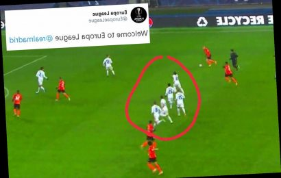 Real Madrid trolled as five players are caught out marking nobody in lead up to Shakhtar Donetsk goal