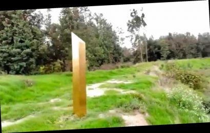 Gold monolith appears in Colombia as alien-hunters fear it's the 'one that controls them ALL'